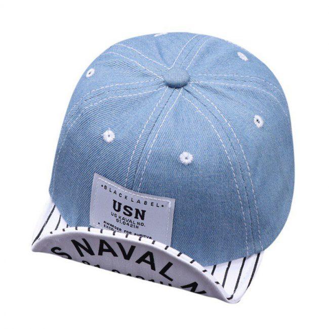 Baby pet jeans licht blauw 40 - 48 cm 6 - 18 maanden