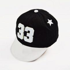 Baseball cap kids zwart 12 maanden