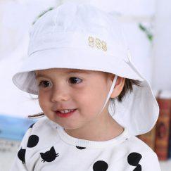 Handige baby zonnehoed met doek