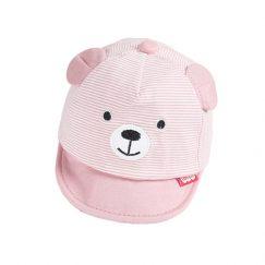 Kids zomer pet roze beer vanaf 6 maanden