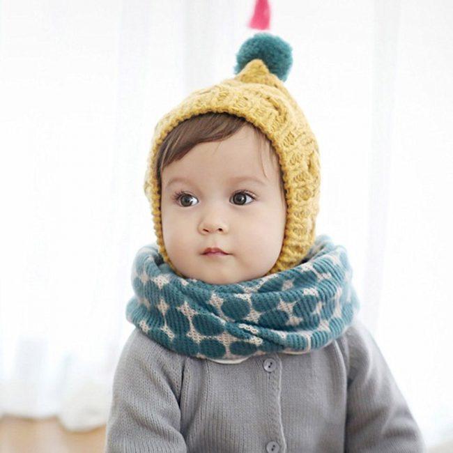 warme kindersjaal 1-5