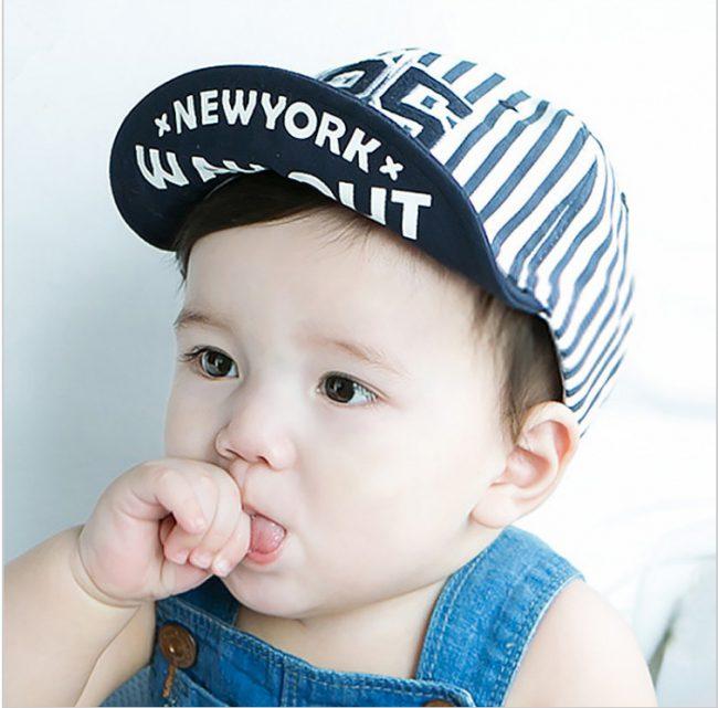 baby baseball cap vanaf 6 maanden