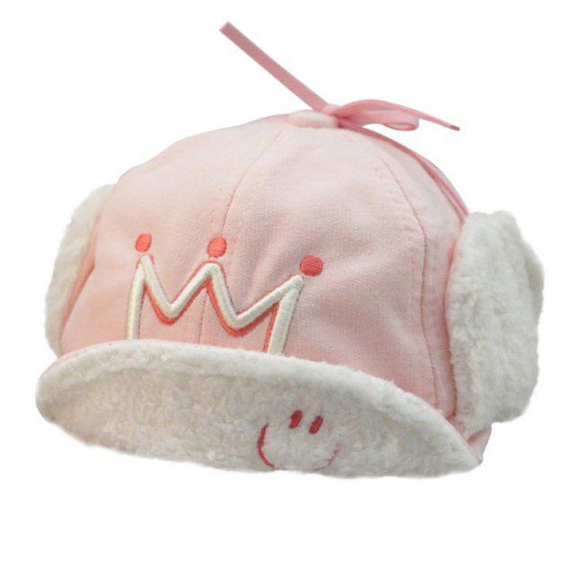 baby pet warm gevoerd roze 9 maanden