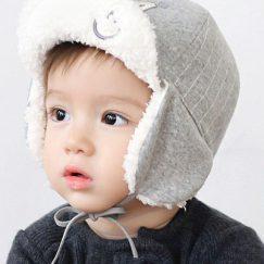 baby pet zon warm grijs vanaf 9 maanden