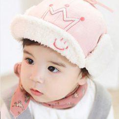 baby pet zon warm roze 9 maanden