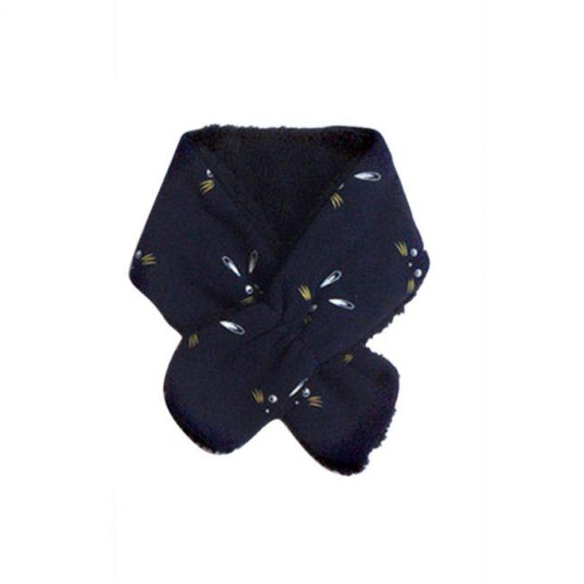 baby sjaal 6 maanden marine blauw