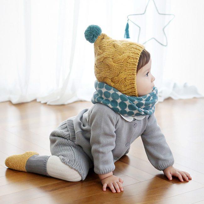 warme baby sjaal 1-5 jaar