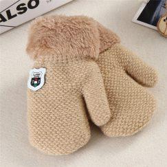 baby handschoenen effen creme