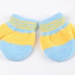babywantjes 9 maaanden blauw geel