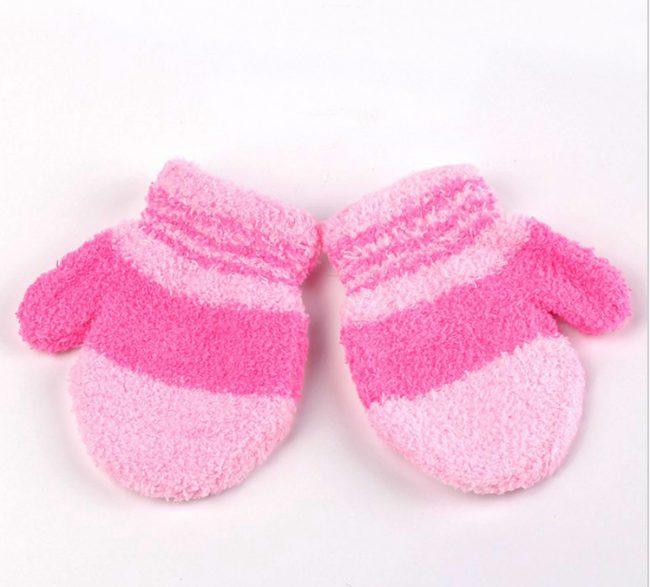 babywanten vanaf 9 maanden roze