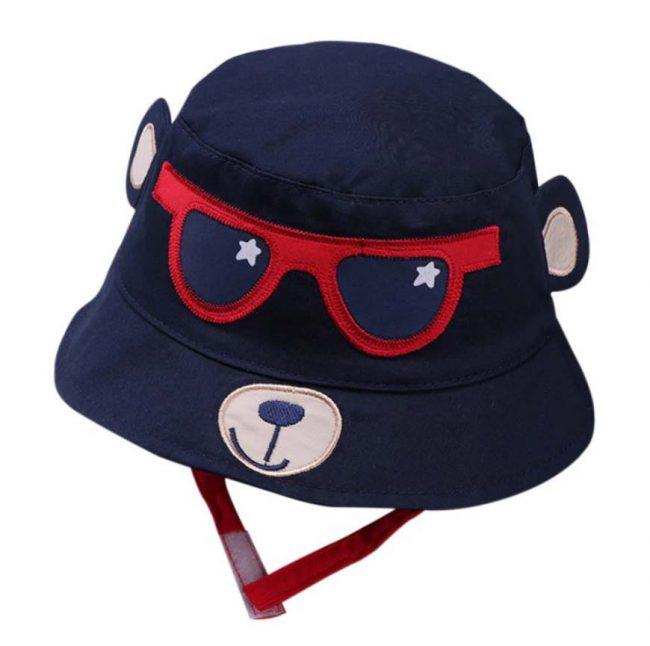 baby zoQnnehoed beer zonnebril
