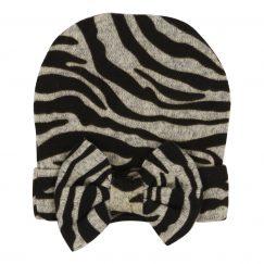 babymuts meisjes met zebra print