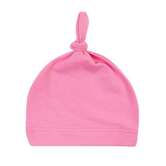 pasgeboren baby muts roze