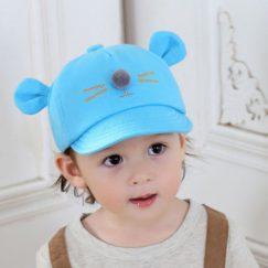 kinderpetje muis blauw peuter vanaf 8 maaanden