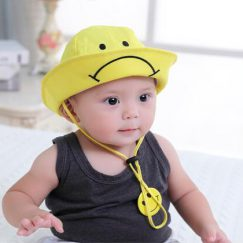 zonnehoed dreumes baby smile geel vanaf 12 maanden